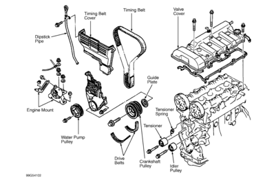 Mazda-1.8L-4Cilindros-Motor-FP-1