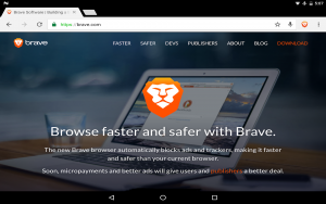 Brave Web Browser